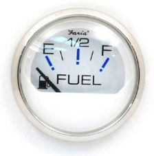 Faria Beede Fuel Level Gauge 12 v